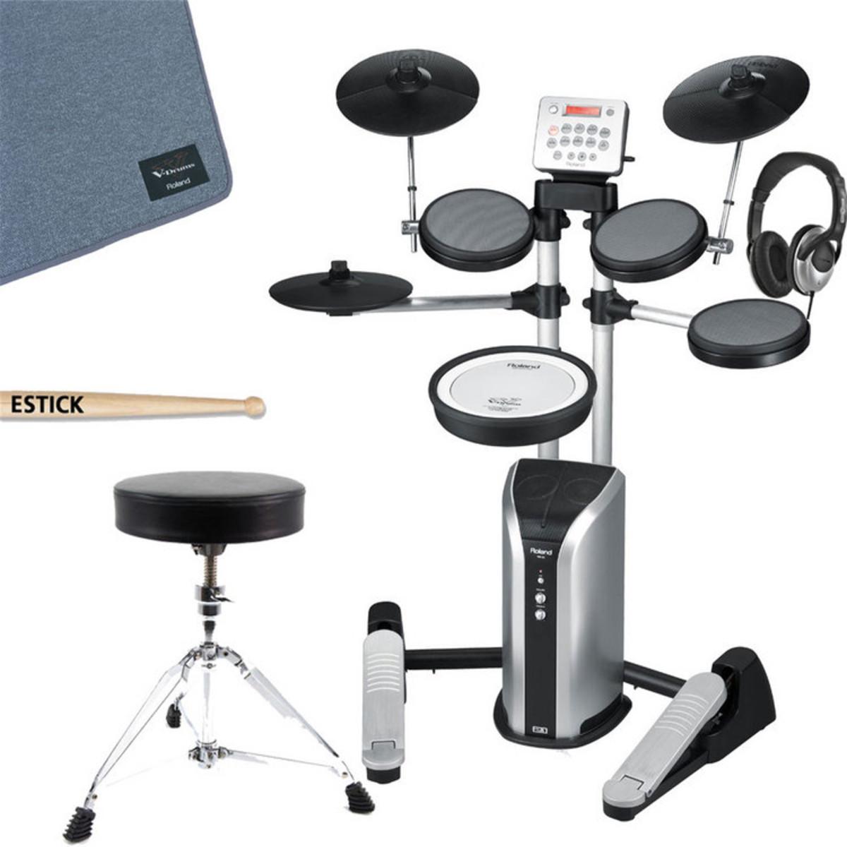 Roland hd 3 v drums lite batteria elettronica completo pacchetto a - Roland hd3 v drum lite set ...