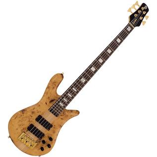 Spector Bass Euro 5LX EX Bass Guitar, Poplar Burl