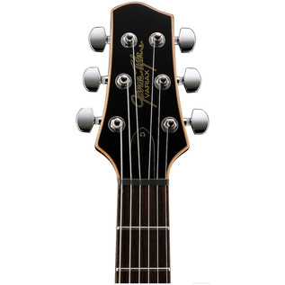 Line 6 JTV-59 James Tyler Variax Guitar In Tobacco Sunburst - headstock