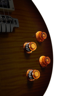 Line 6 JTV-59 James Tyler Variax Guitar In Tobacco Sunburst - Controls