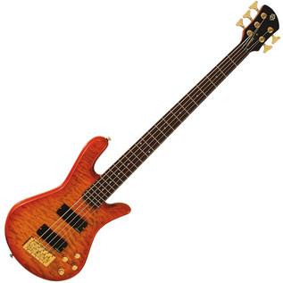 Spector Bass Legend 5 Custom Bass Guitar, Amber