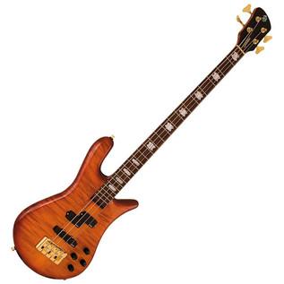 Spector Bass Euro 4LX Classic Bass Guitar, Ultra Amber