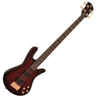 Spector Bass Legend 4 Custom Bass Guitar, Black Cherry