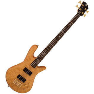 Spector Bass Legend 4 Custom Bass Guitar, Natural
