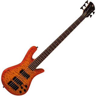 Spector Bass Legend 5 Classic Bass Guitar, Amber