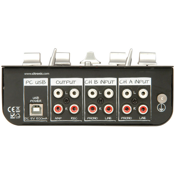 Citronic MINI:MIX1 Compact USB Mixer