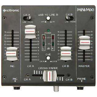 Citronic MINI:MIX1 Compact USB Mixer