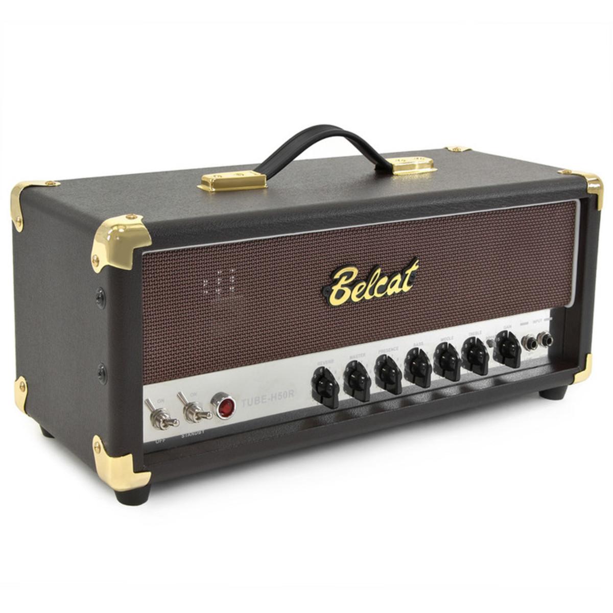 belcat tube h50r 50w valve guitar amp head at. Black Bedroom Furniture Sets. Home Design Ideas