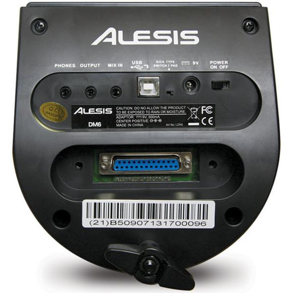 Alesis DM6 Performance Electronic Drum Kit - module back