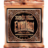 Ernie Ball Everlast 2550 phosphore guitare acoustique cordes 10-50