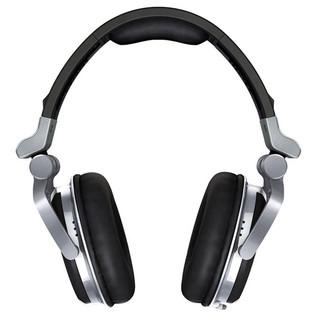 Pioneer HDJ-1500 Professional DJ Headphones, Deep Silver - end on