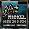 GHS Nickel Rockers Cuerdas de Guitarra Medium, Cal. 11-50