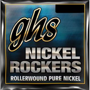 GHS Nickel Rockers Guitar Strings Ultra Light 008-038