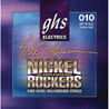 GHS Nickel Rockers Eric Johnson firma corde luce 010-050