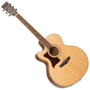 Tanglewood TW155 AS Jumbo Electro Acoustic Guitar - Left Handed