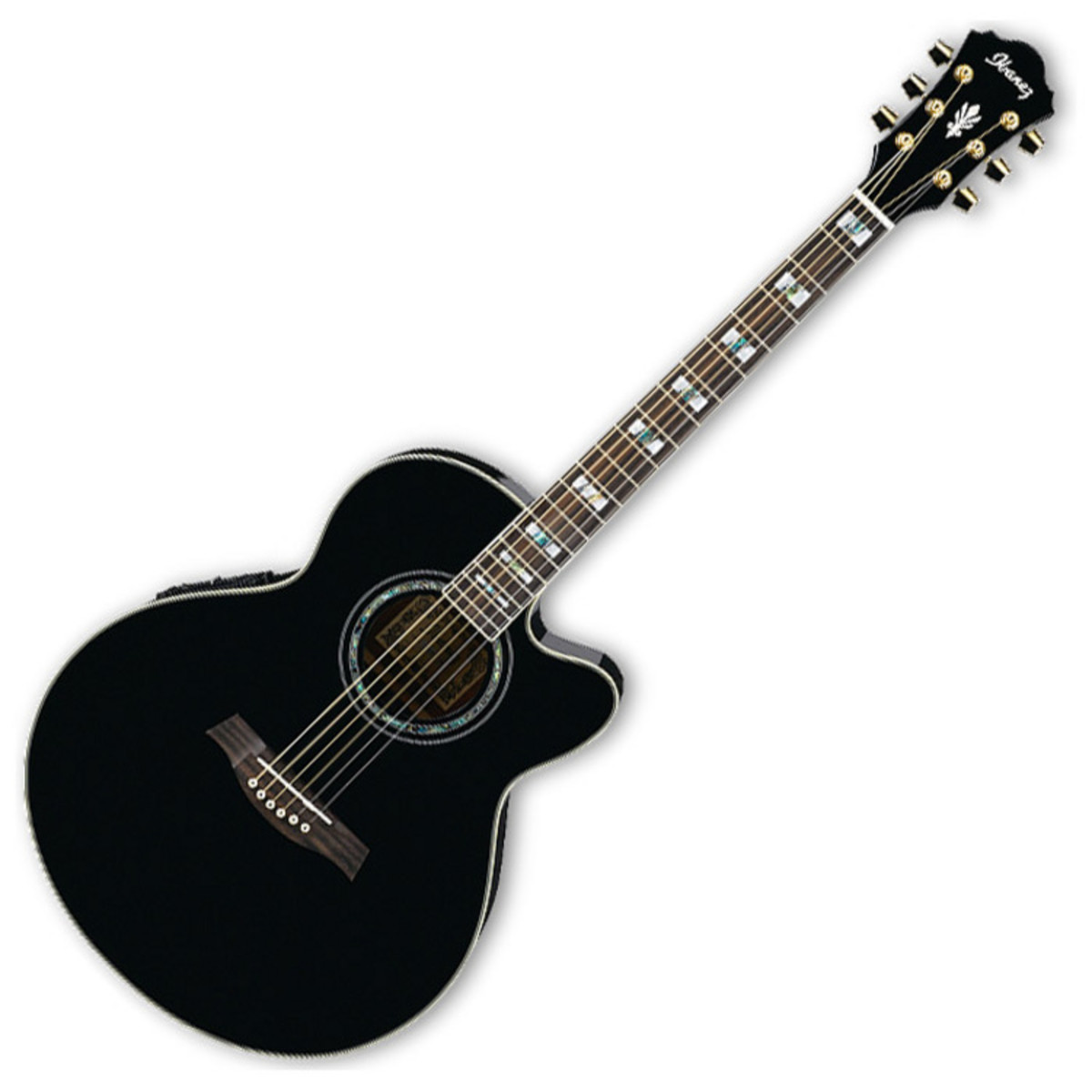 ibanez ael30se guitare electro acoustique noir ex d mo. Black Bedroom Furniture Sets. Home Design Ideas