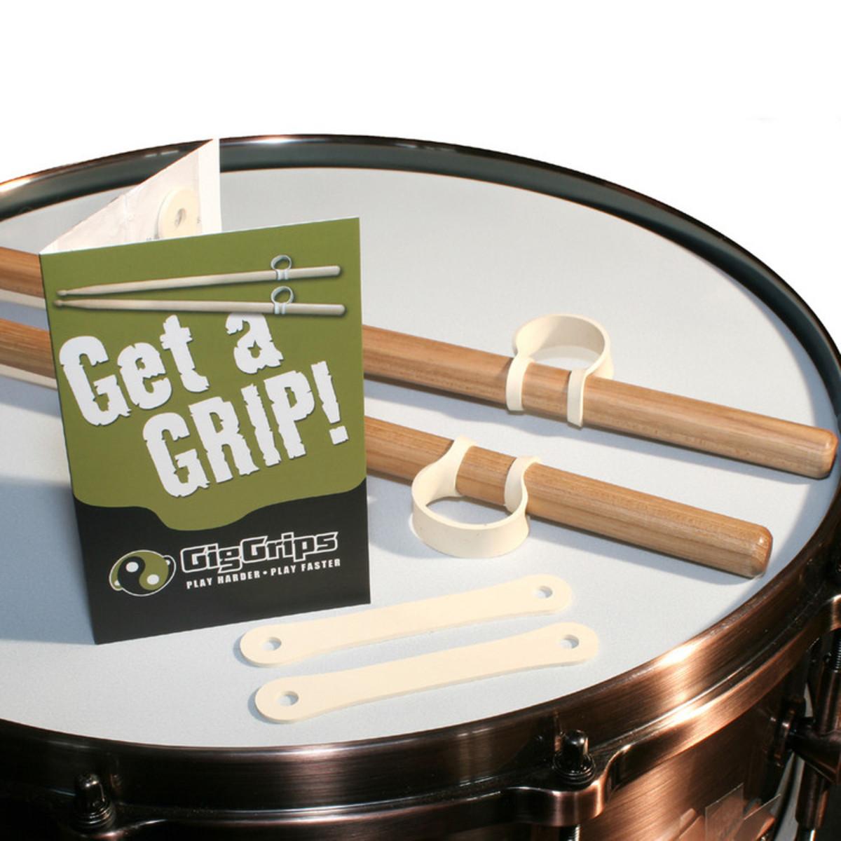 gig grips drumstick grips 1pair at. Black Bedroom Furniture Sets. Home Design Ideas