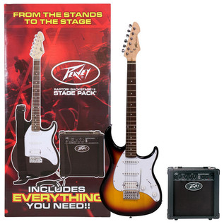 Peavey Raptor Plus Stage Pack, Sunburst