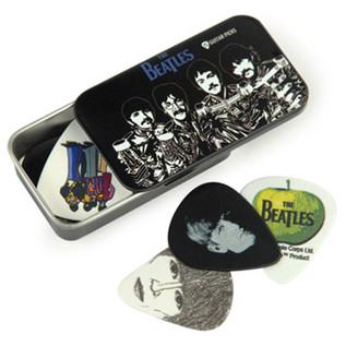 Planet Waves Beatles Signature Guitar Pick Tins, Sgt. Pepper's