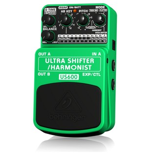 Behringer US600 Ultimate Pitch Shifter / Harmonist Effects Pedal