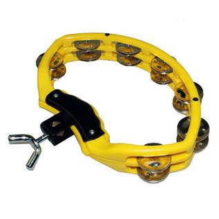 Natal Spirit Drumset Mount Tambourine, Yellow