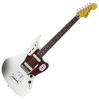 Squier by Fender Vintage Modified Jaguar Guitar, Olympic White