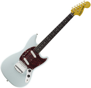 Fender Vintage Modified Mustang Electric Guitar, Sonic Blue