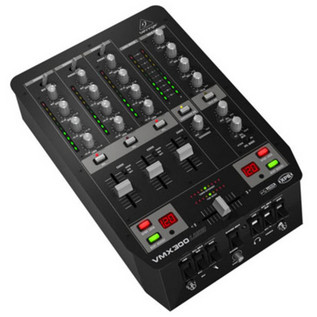 Behringer Pro VMX300USB Professional 3-Channel DJ Mixer