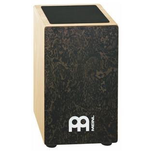 Meinl String Cajon - Black Makah Burl