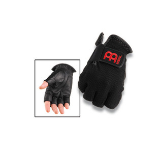 Meinl MDGFL-L Drummer Gloves Finger-less Large - Black