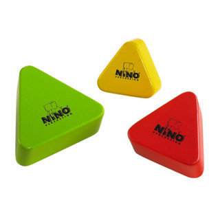 Meinl NINO508-MC Wood Shaker Assortment, Multi Colour