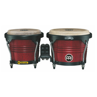 Meinl Free Ride Series Wood Bongo - Cherry Red - Matte