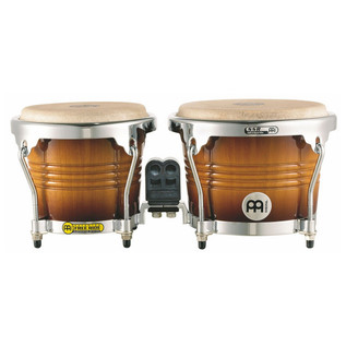 Meinl Free Ride Series Wood Bongo - Gold Amber Sunburst
