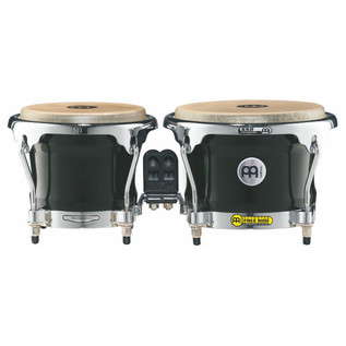 Meinl Free Ride Series Wood Bongo - Ebony Black