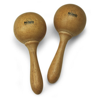 Meinl NINO8 Wood Maracas, Medium