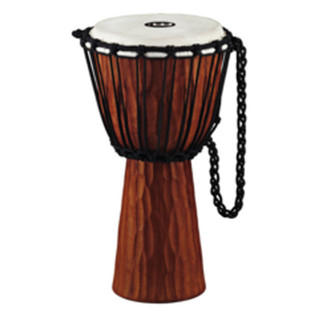 Meinl HDJ4-S Headliner Rope Tuned Wood Djembe, Nile Series, Small