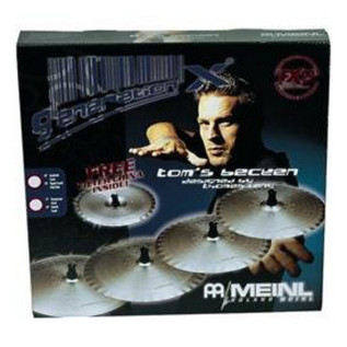 Meinl GX-TB14/16/18 Generation X Tom´s Becken Sets