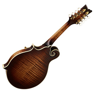 Ortega RMF100AVO F-Style Mandolin, Distressed, Antique Violin Oiled - back