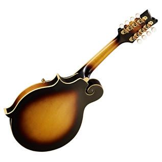 Ortega RMF90TS F-Style Mandolin, Solid Spruce Top, Tobacco Sunburst - back