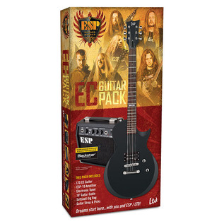 ESP EC Electric Guitar Pack