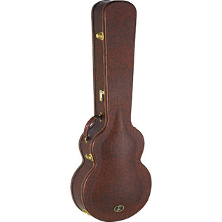 Ortega OABCA Acoustic Bass Case, Dark Brown Finish