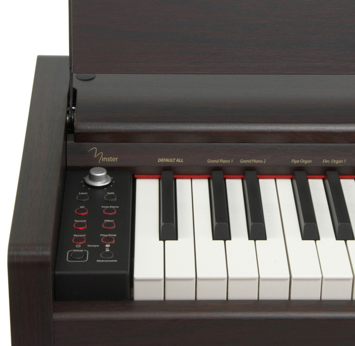 cath drale mlp300 compact piano num rique palissandre d 39 occasion comme neuf. Black Bedroom Furniture Sets. Home Design Ideas