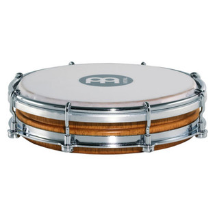 Meinl TBR06SNT-M Floatune Wood Tamborim, Super Natural