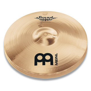 Meinl SC14MH-B Soundcaster Custom 14 inch Medium Hi-hat - Brilliant