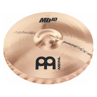 Meinl MB10-14MSW-B 14 inch Medium Soundwave Hi-hat - Brilliant