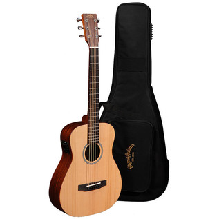 Sigma TM-12 Electro-Acoustic Travel Guitar, Natural