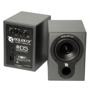 Equator D5 Active Studio Monitors with Internal DSP (Pair)