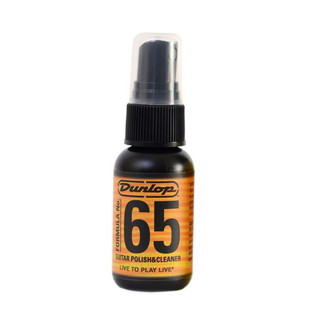 Jim Dunlop Formula 65 Guitar Polish & Cleaner, 1 Fluid Oz