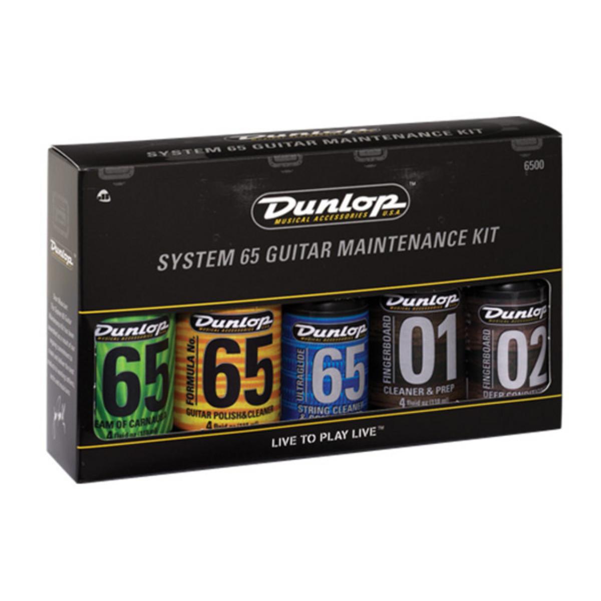jim dunlop system 6500 guitar care and maintenance kit at. Black Bedroom Furniture Sets. Home Design Ideas