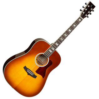 Tanglewood Evolution TW28 Acoustic Guitar, Amber Sunburst
